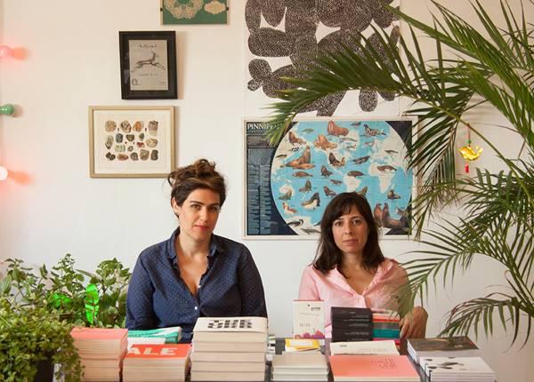 דנה גז (מימין) ונעמי גיגר. צילום: ענת ברזילי
