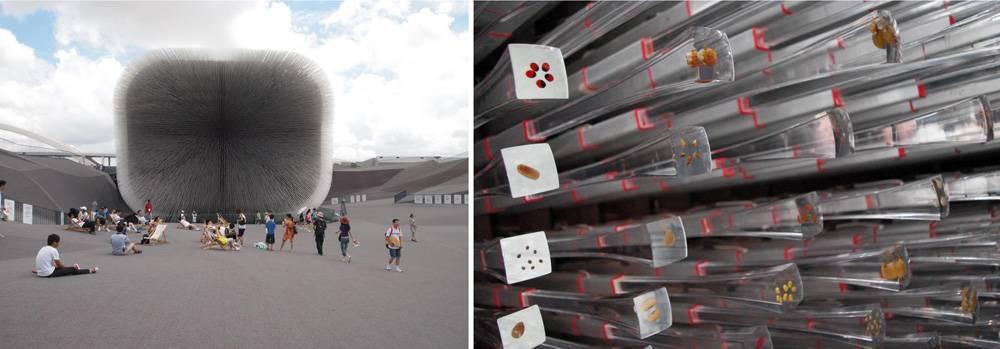 The Seed Cathedra, UK pavilion at Expo 2010, Thomas Heatherwick
