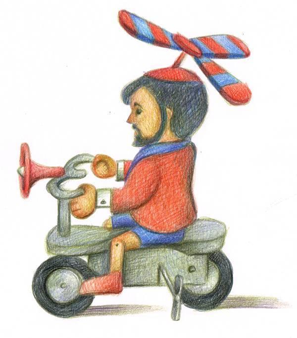 ליאורה גרוסמן, מתוך התערוכה ״בובה עם סדק״ בבית הבראה לצעצועים בנמל יפו