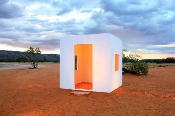 עבודה של דפנה ילון מתוך התערוכה קוביה לבנה בפרויקט מוסללה. צילום: אלעד רבינוביץ