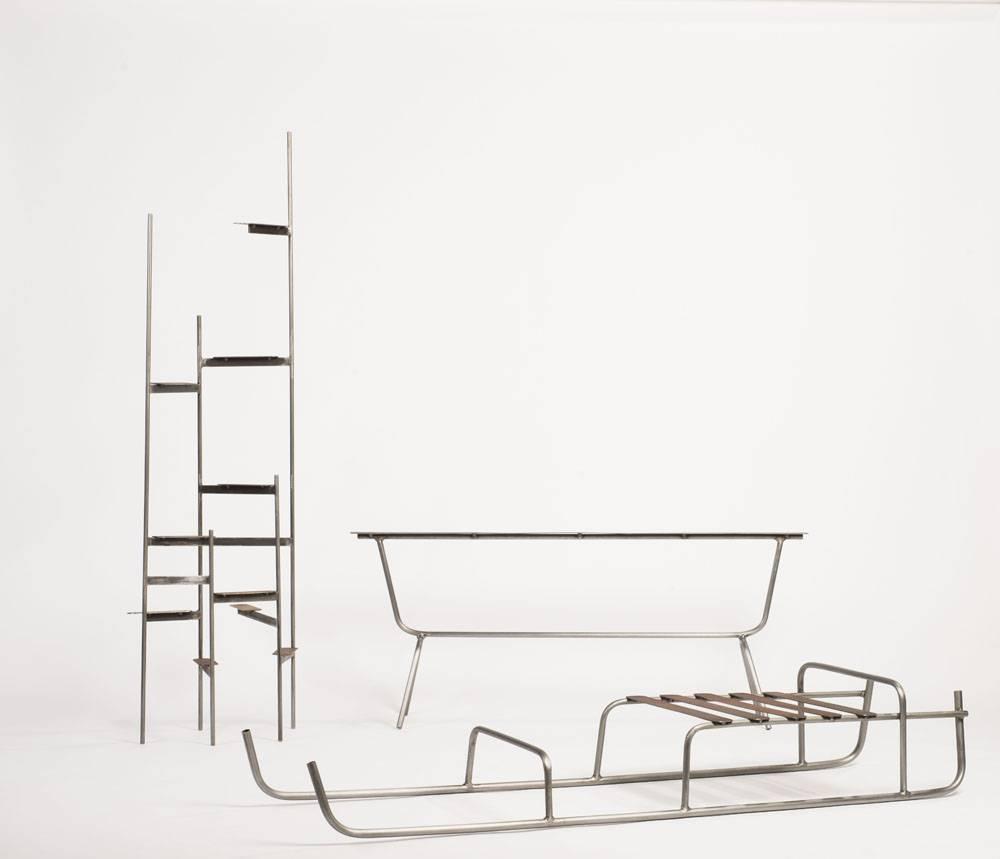 ניל ננר, מתוך התערוכה סימני פיסוק בגלריה SAGA. צילום: שחר פליישמן