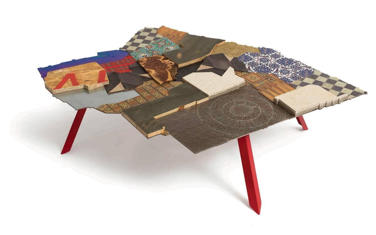 שולחן חלוקת העיר