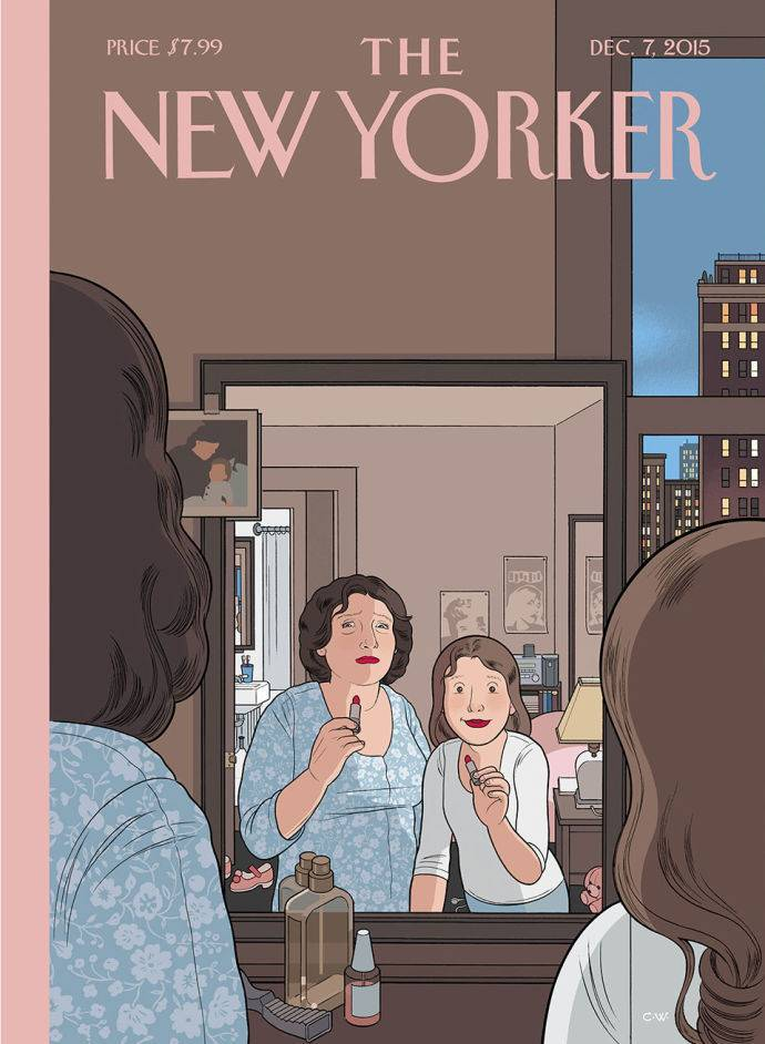 Chris Ware, The New Yorker