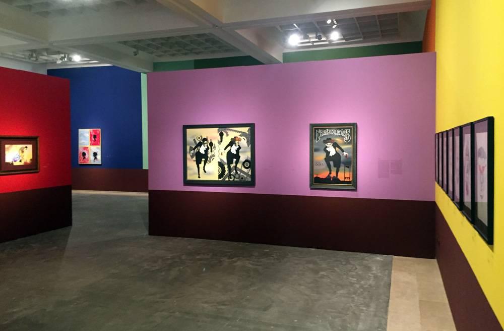מבט על חלל התערוכה