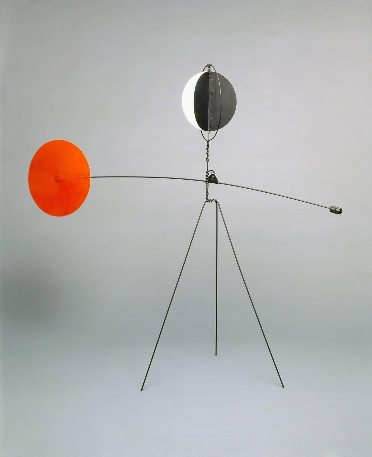 Alexander Calder, Red and Yellow Vane, 1934