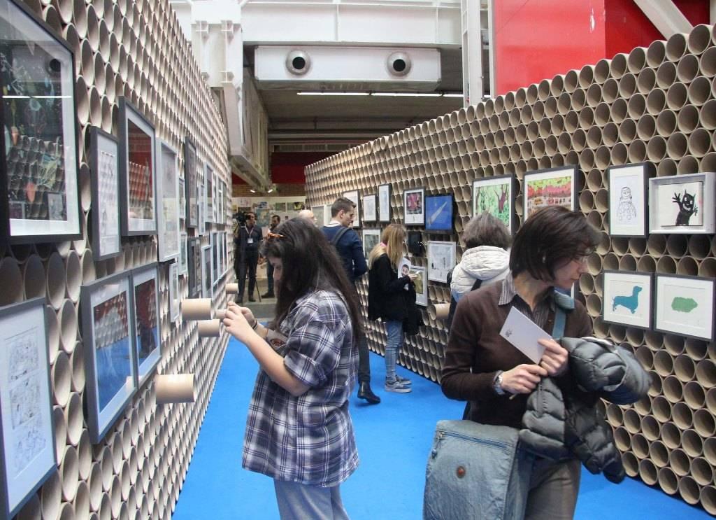 תערוכת איורים מגרמניה. צילום: האתר הרשמי של היריד