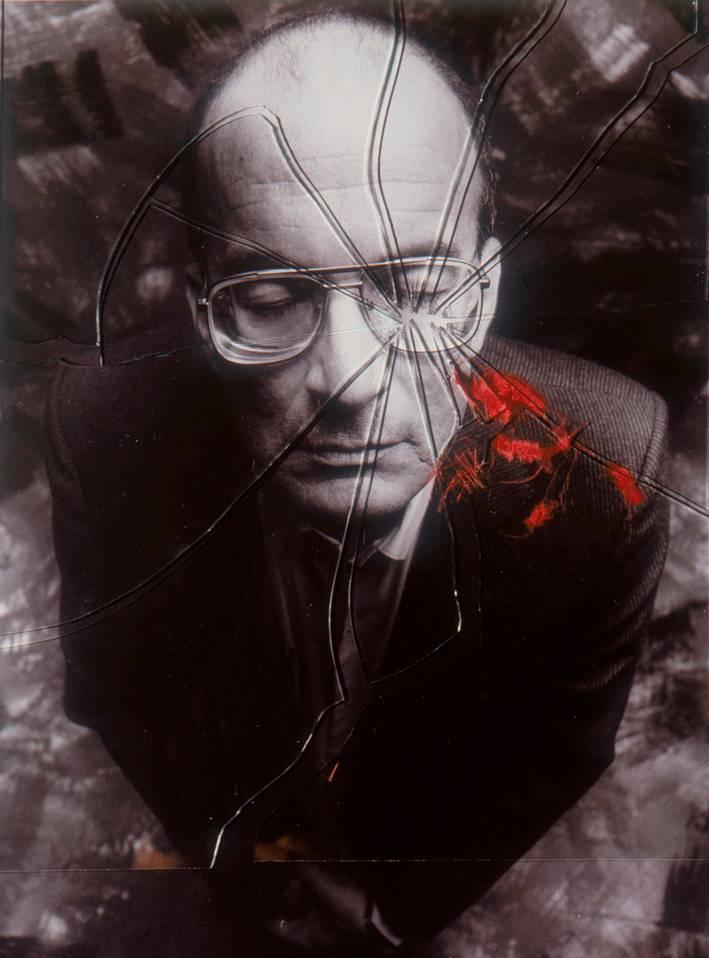 יוסי שריד, 1990. צילום: מיכה קירשנר