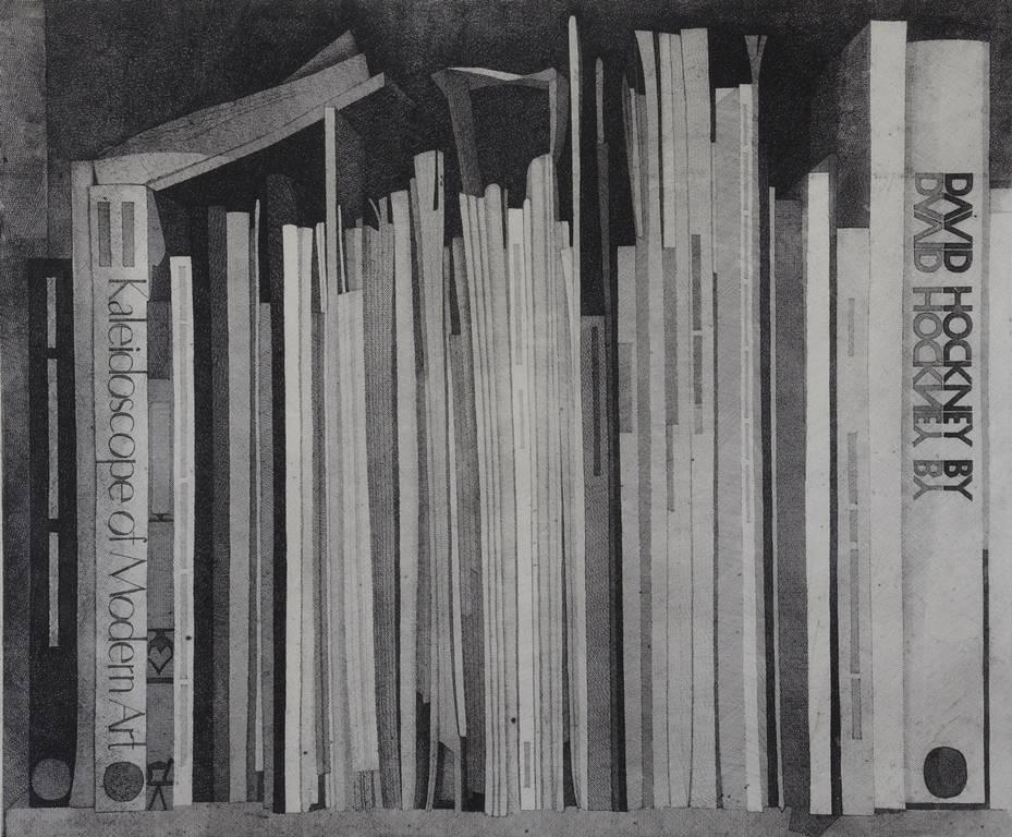 נפתלי רקוזין, מדף ספרים