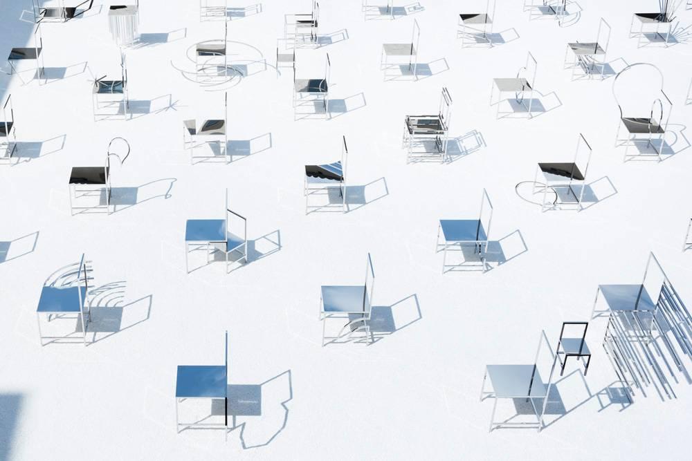 50 Manga Chairs. צילום: Takumi Ota