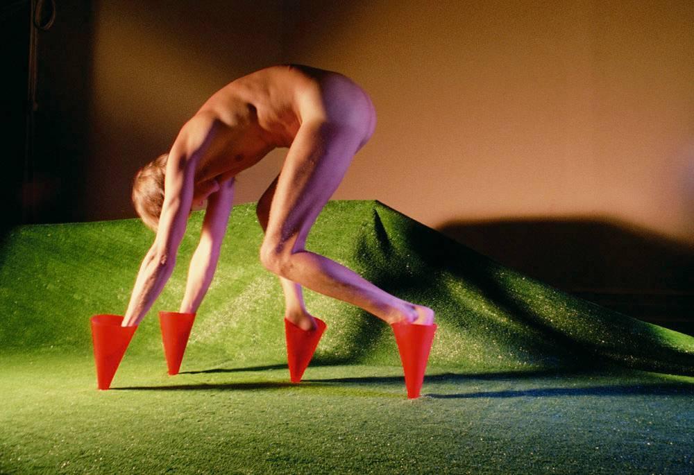Jimmy De Sana, Marker Cones, מתוך התערוכה בטייט מודרן