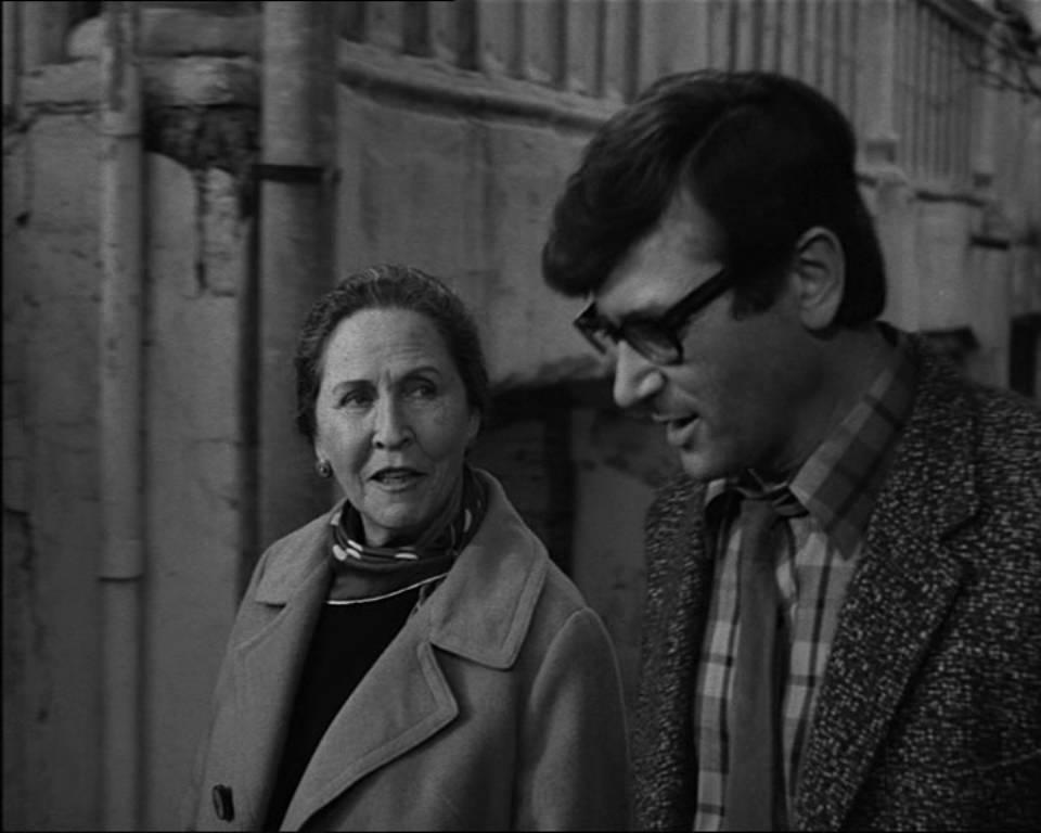 מתוך סרטו של דוד גרינברג איריס, 1968