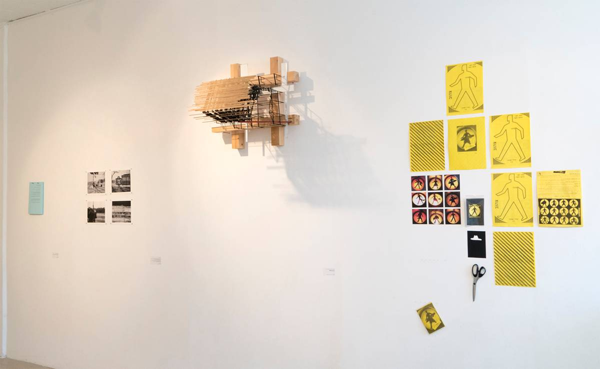 מראה הצבה מתוך התערוכה