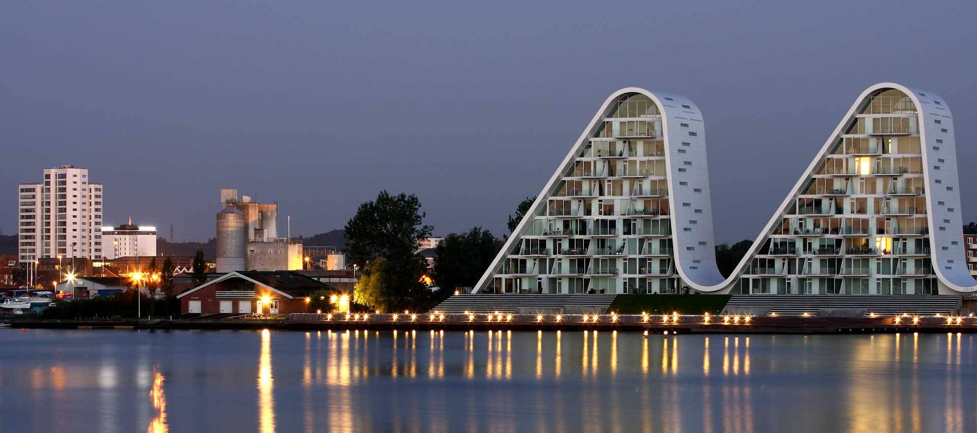 The Wave Vejle by Henning Larsen Architects