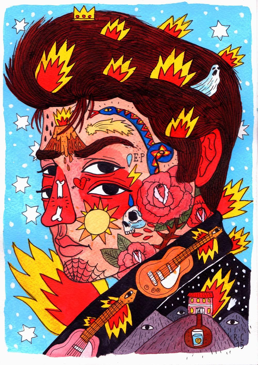 Elvis by Ricardo Cavolo