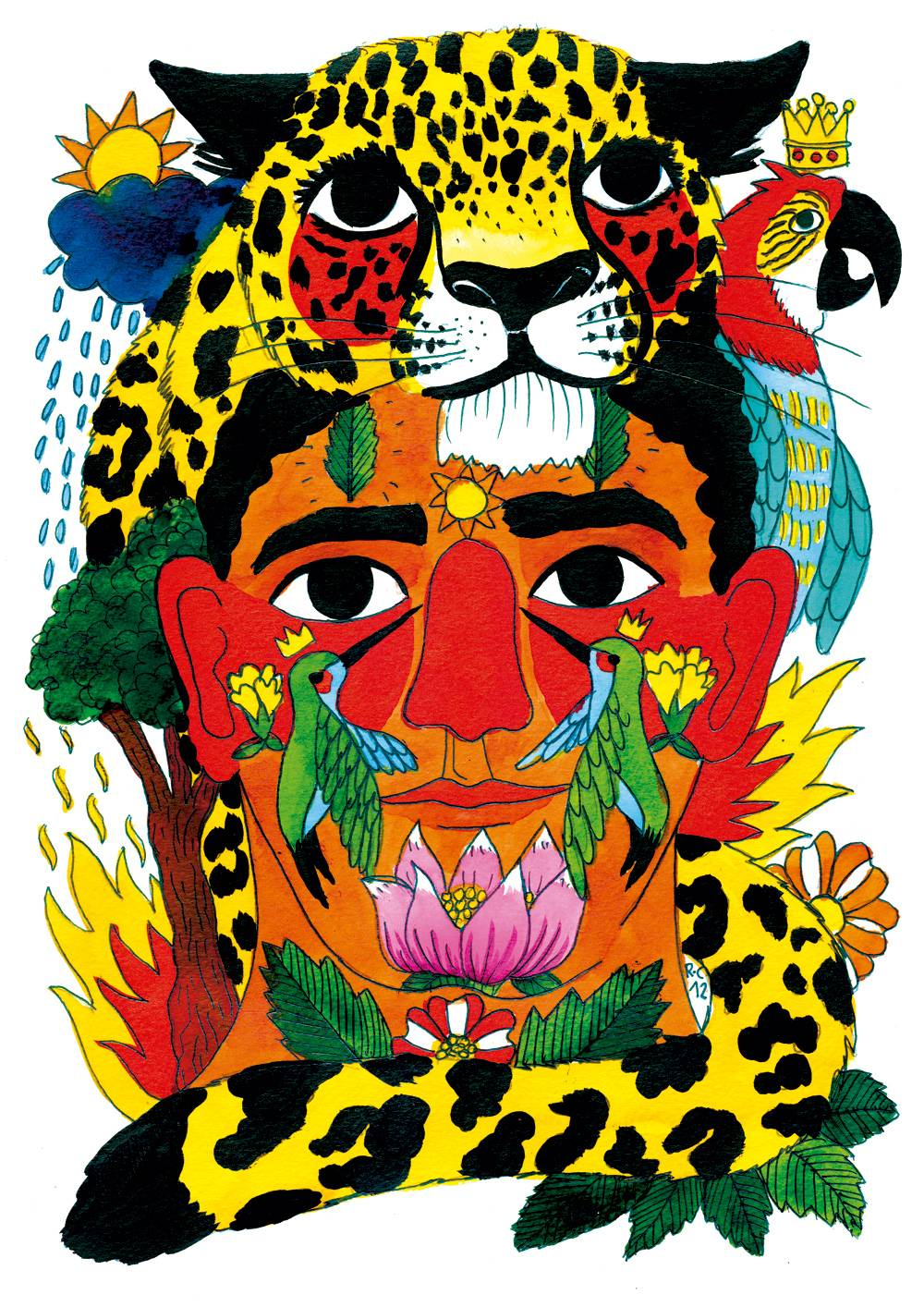 Jaguars by Ricardo Cavolo