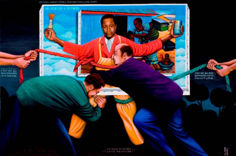 שרי סמבה, ציור שיש להגן עליו, 1993