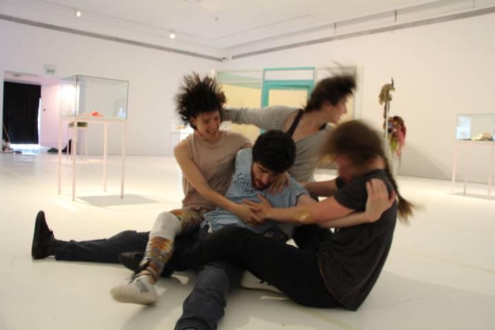 קליימקס, להקת יסמין גודר במוזיאון פתח תקוה, 2016. צילום: גדי דגון