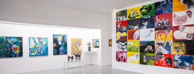 מתוך התערוכה בית לאמנים; אוצרת: רויטל בן־אשר פרץ