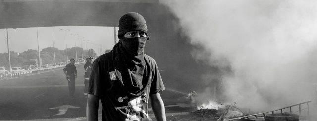 גדעון אגז׳ה, מחאת יוצאי אתיופיה, 2015