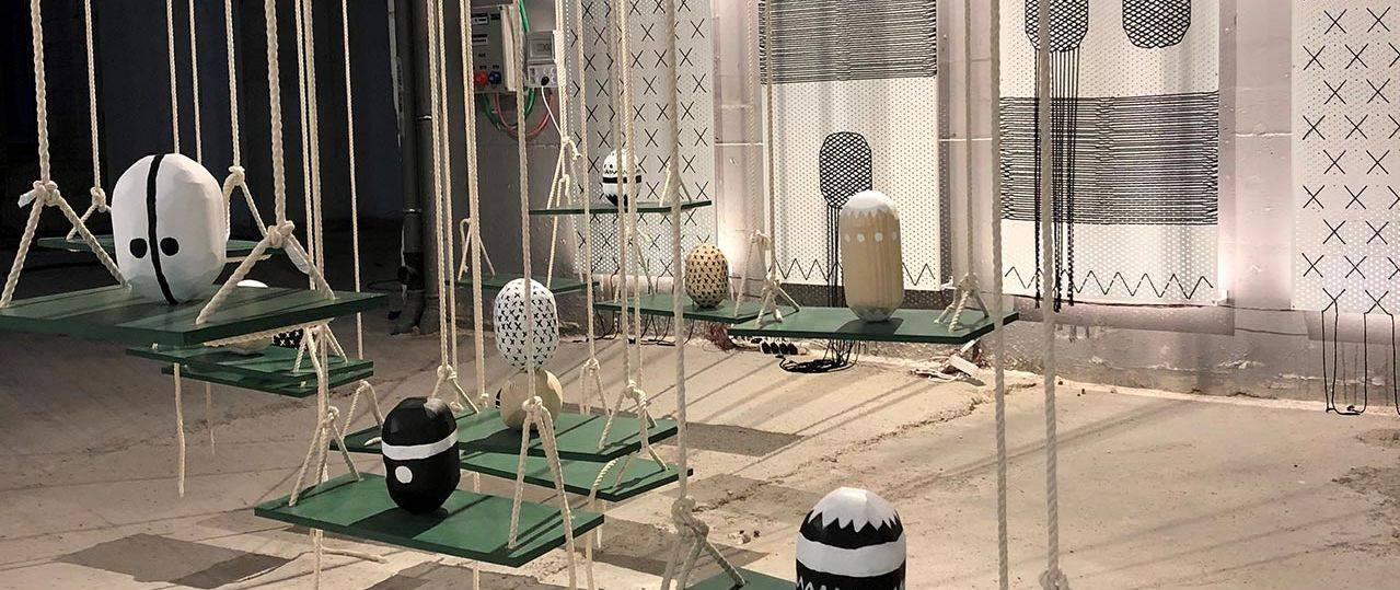 אורלי ברנח, חלל התערוכה Space Work Art Designבמידטאון תל אביב