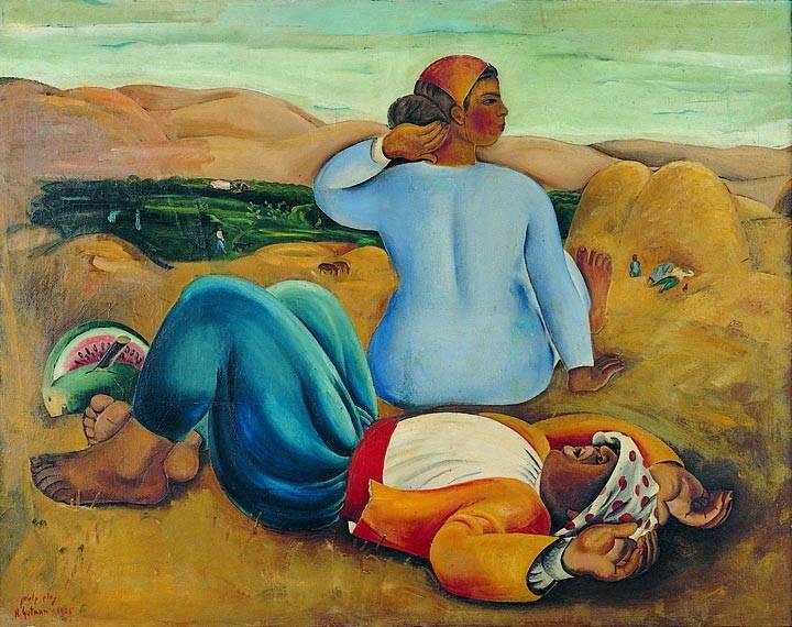 מנוחת צהרים, מוזיאון תל אביב לאמנות