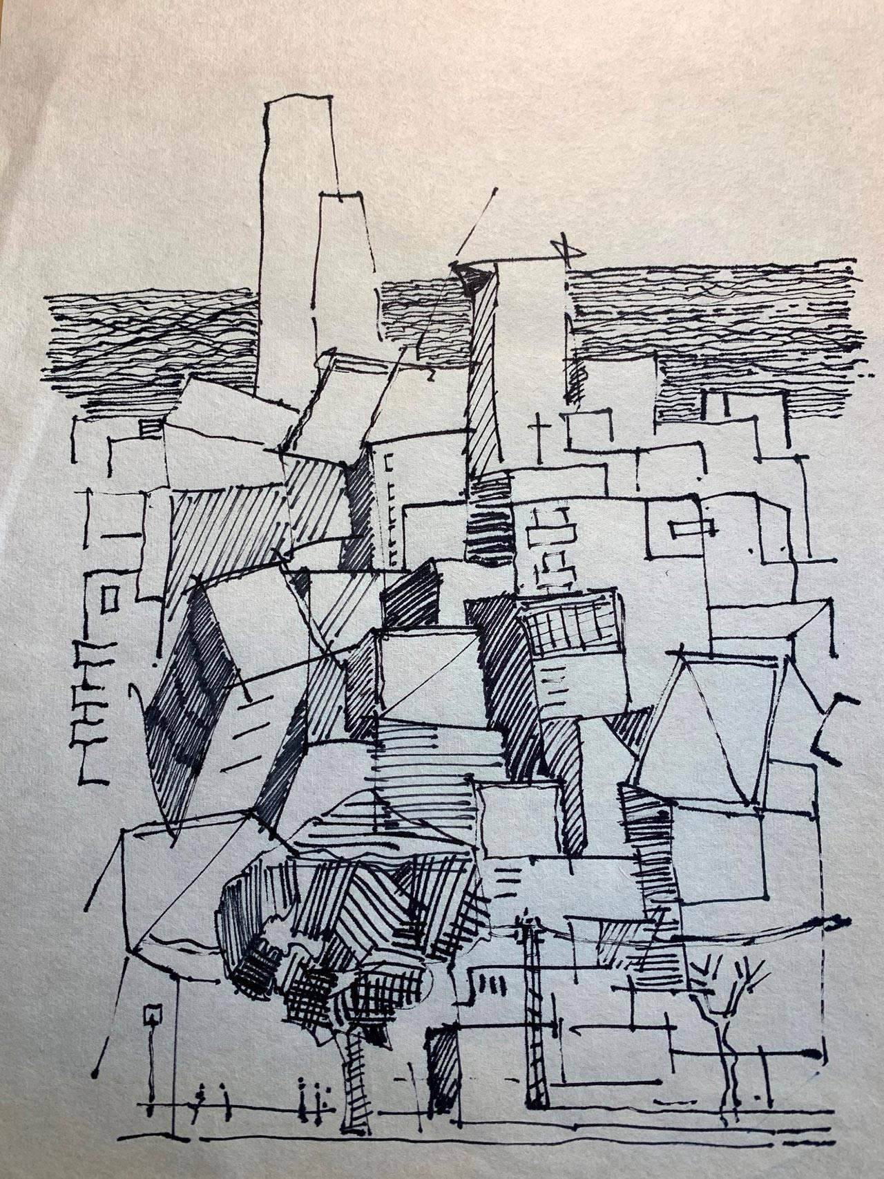 עמי שנער, אדריכלים מאיירים את תל אביב