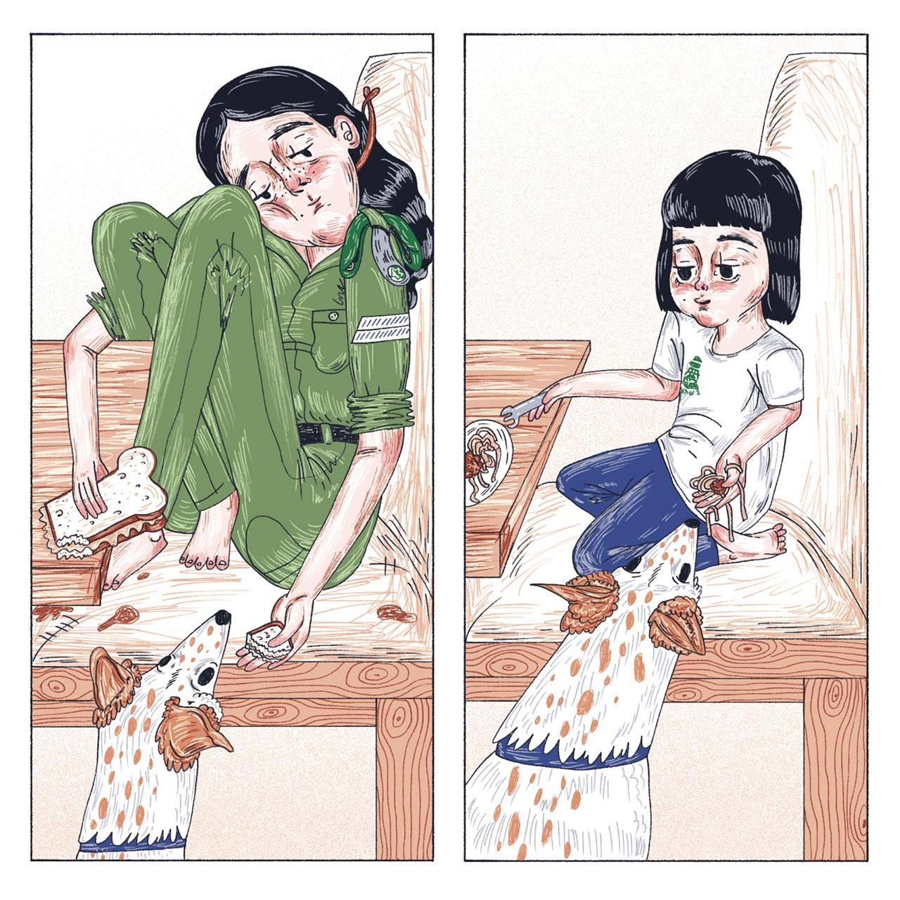 איה טל־שיר, שבע שנים לפרס קרטס לקומיקס
