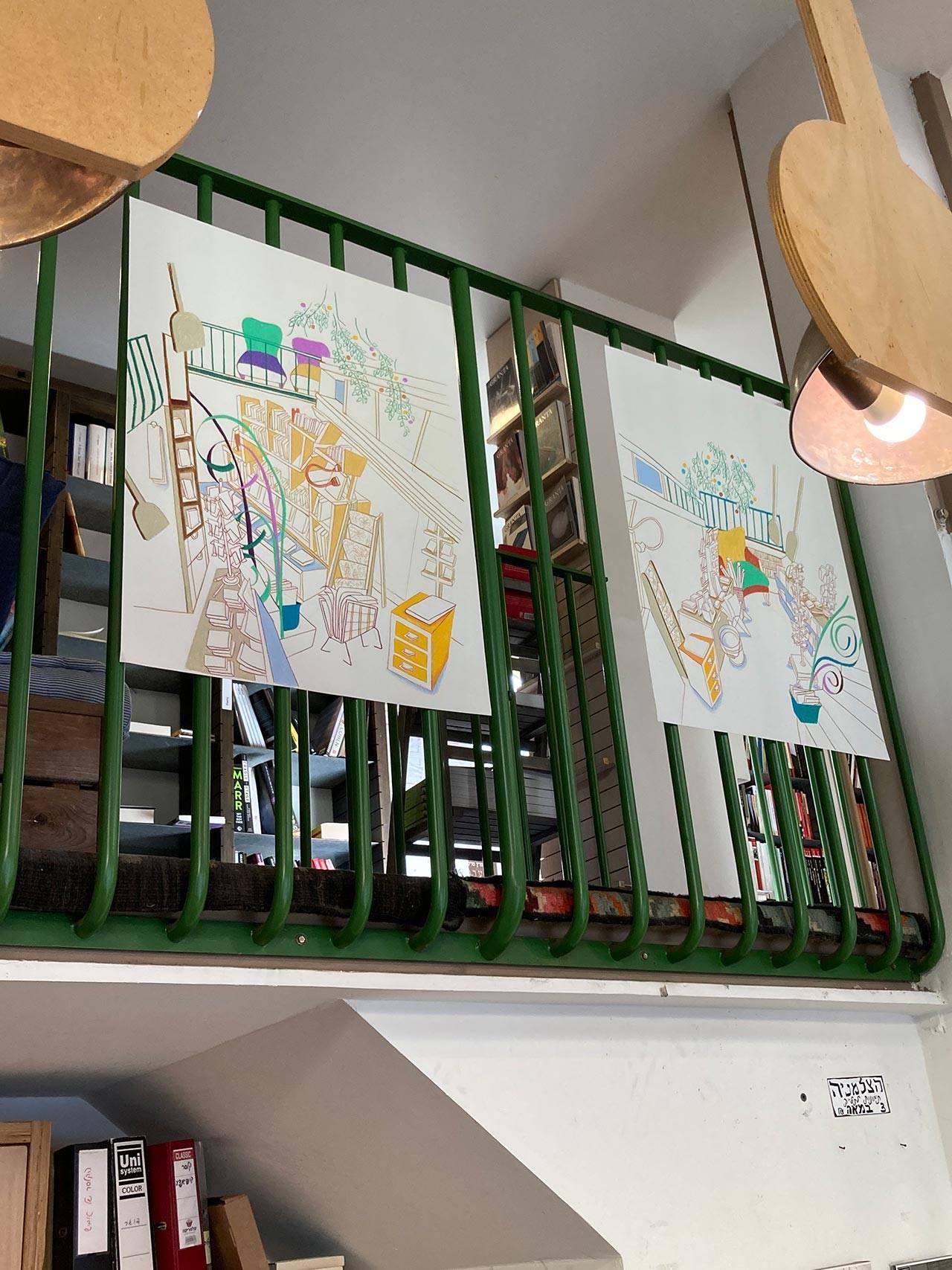 קרן כץ, מתוך התערוכה חנויות ומלאכות