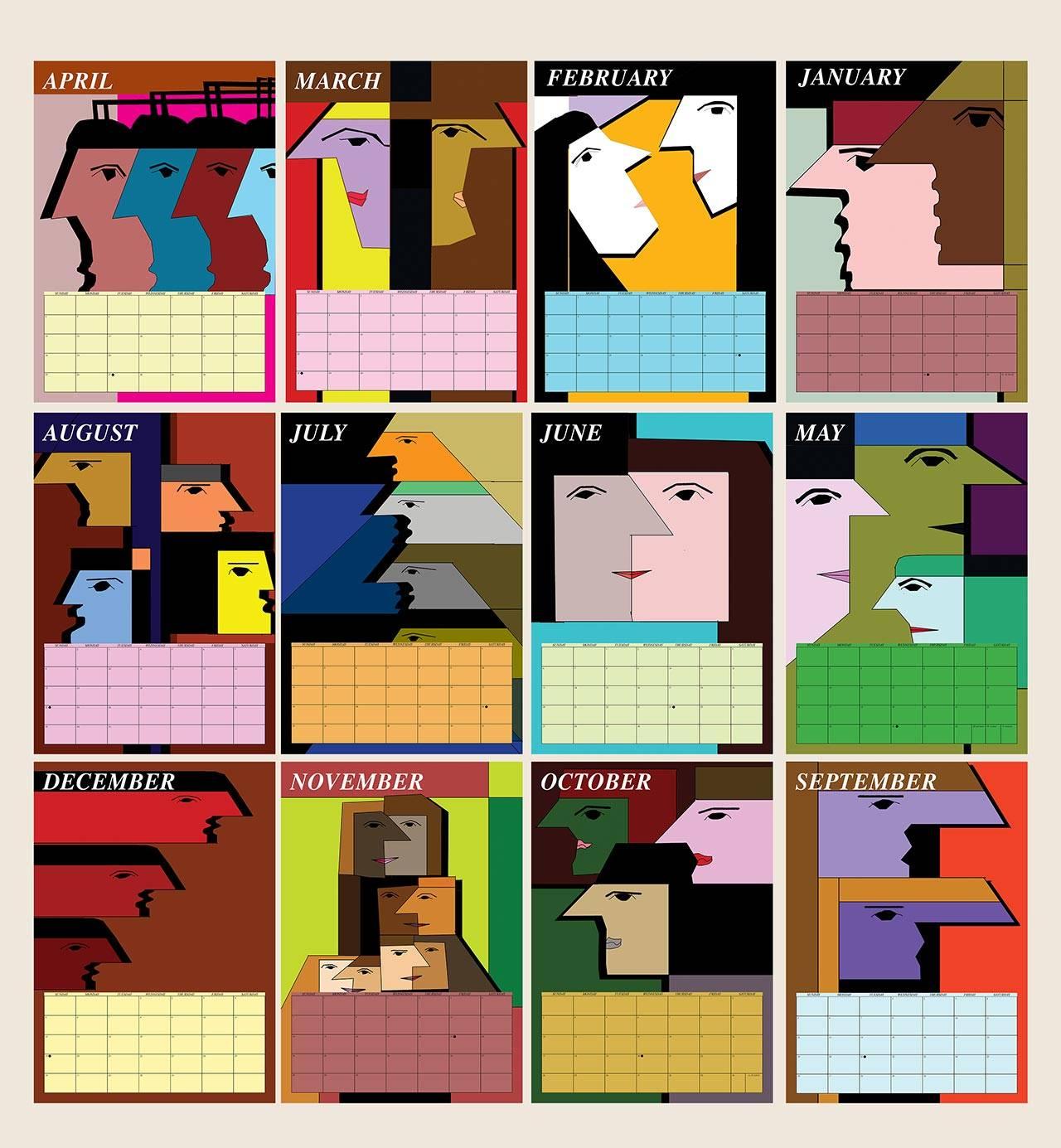 לוח השנה של רותי דה פריס