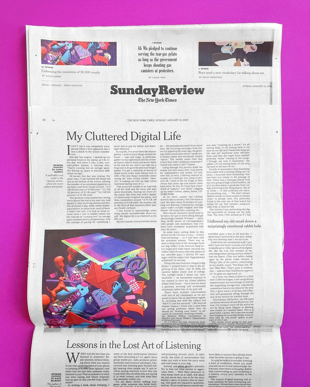 שירה ענבר לניו יורק טיימס