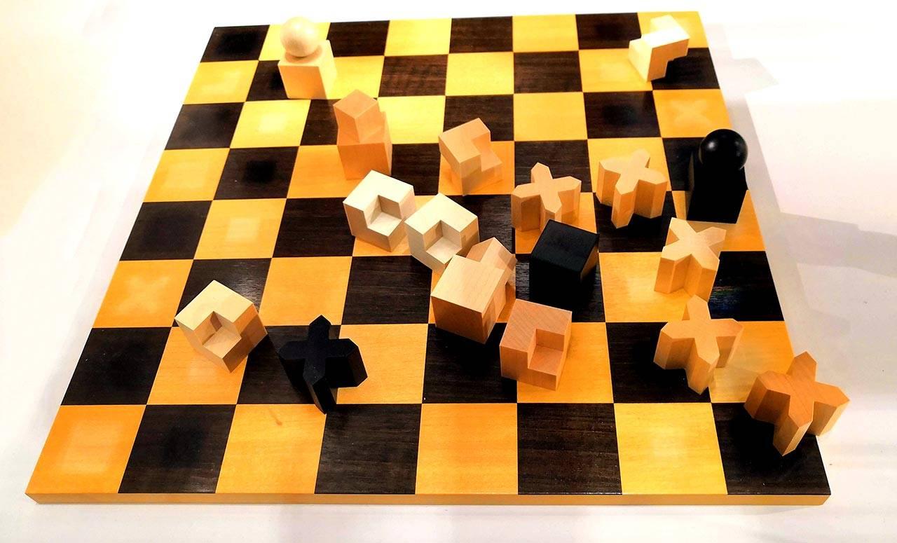 כלי שחמט, ג׳וסף הארטוויג, 1923
