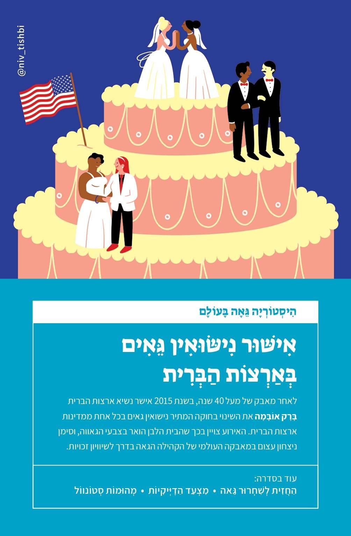 ניב תשבי, אישור נישואין גאים בארצות הברית