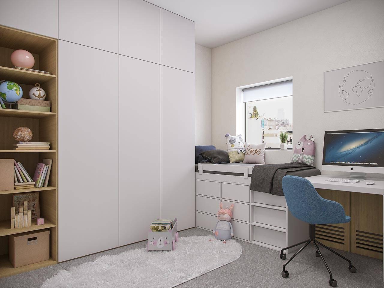 חדר ילדים בפרויקטME-CRO