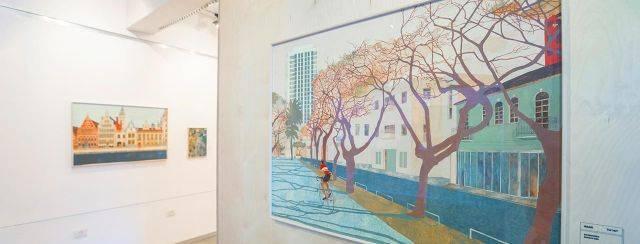אלייזה סאות׳ווד, Non Voyage, הגלריה בבית האדריכל