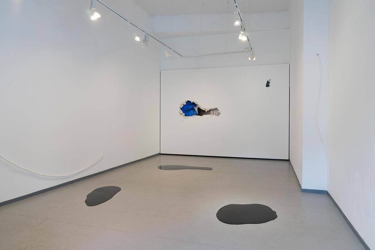 מתוך התערוכה בגלריה P8
