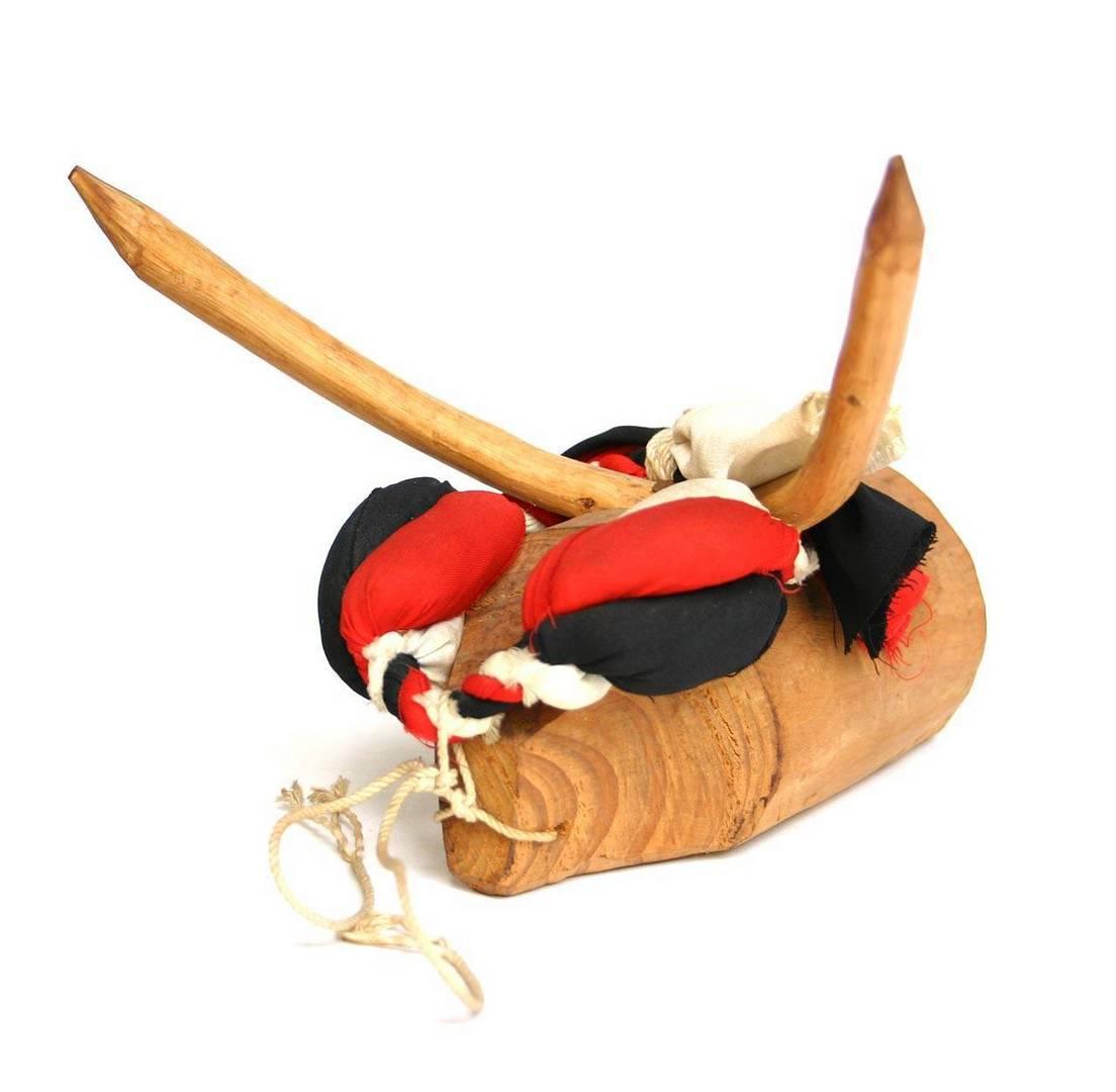 שור עץ, משחק המדמה קרבות שוורים, מחוז ניגטה, שנות ה־60
