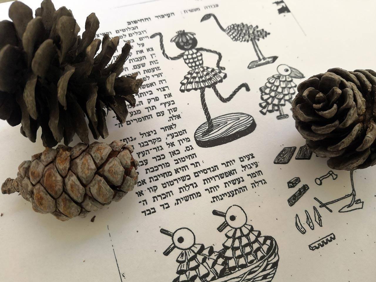 הוראות ליצירת צעצועים מאצטרובלים, שנות ה־50