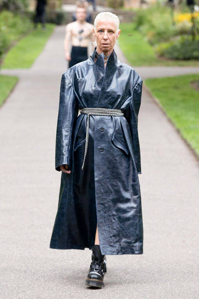 ארט סקול בשבוע האופנה בלונדון, אביב קץ 2021. צילומים באדיבות Art School
