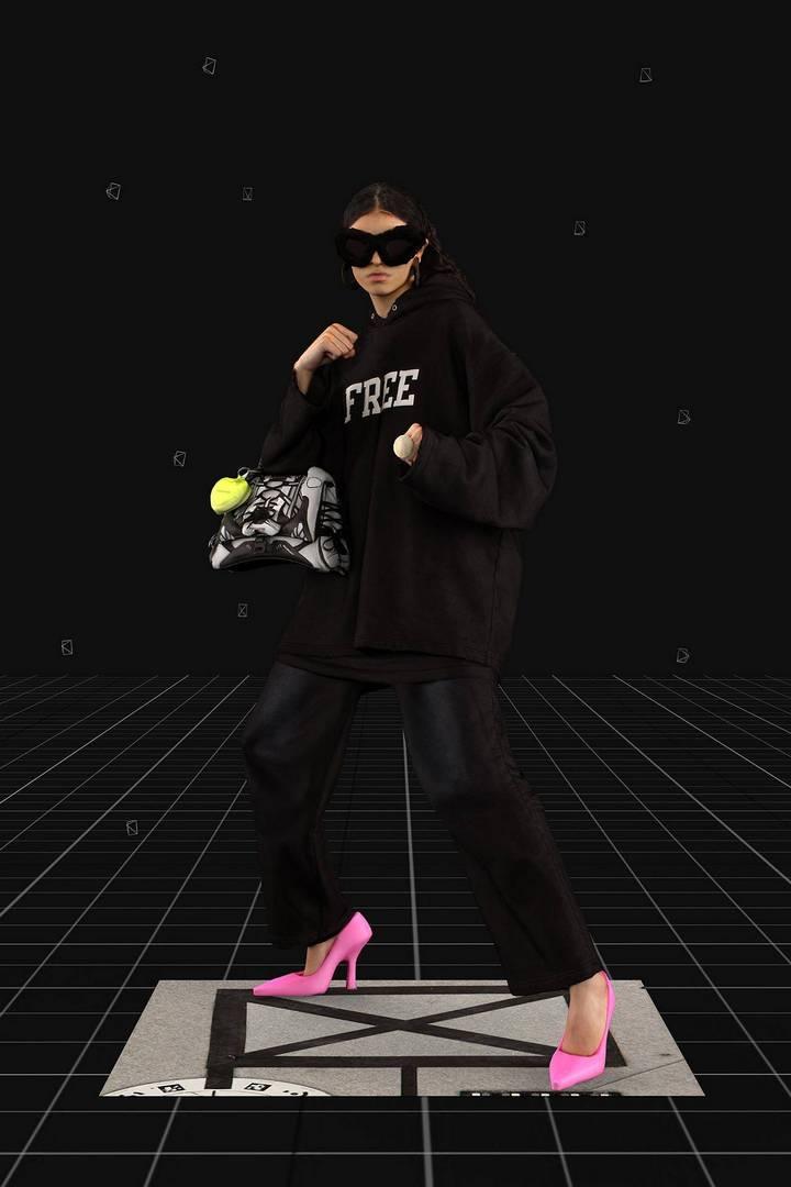 מתוך תצוגת האופנה של בלנסיאגה. צילומים: יח״צ בלנסיאגה