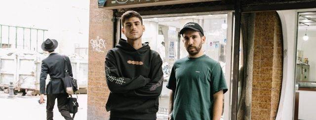 עמית לוזון (משמאל) ואייל אליהו