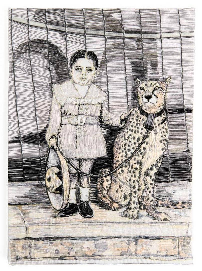 ילד עם נמר