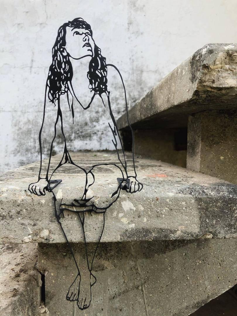 רונית בכר ShadoArt. צילומים: מ״ל
