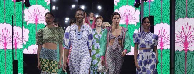 לארה רוסנובסקי, שבוע האופנה קורנית תל אביב 2021