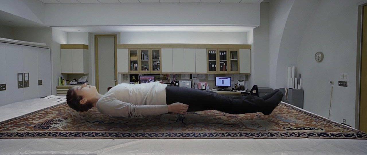 פאטמה שנאן, שטיח ודיוקן עצמי צף