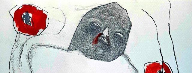 תמה גורן, מתוך ״המת מזמן״ בגלריית המדרשה