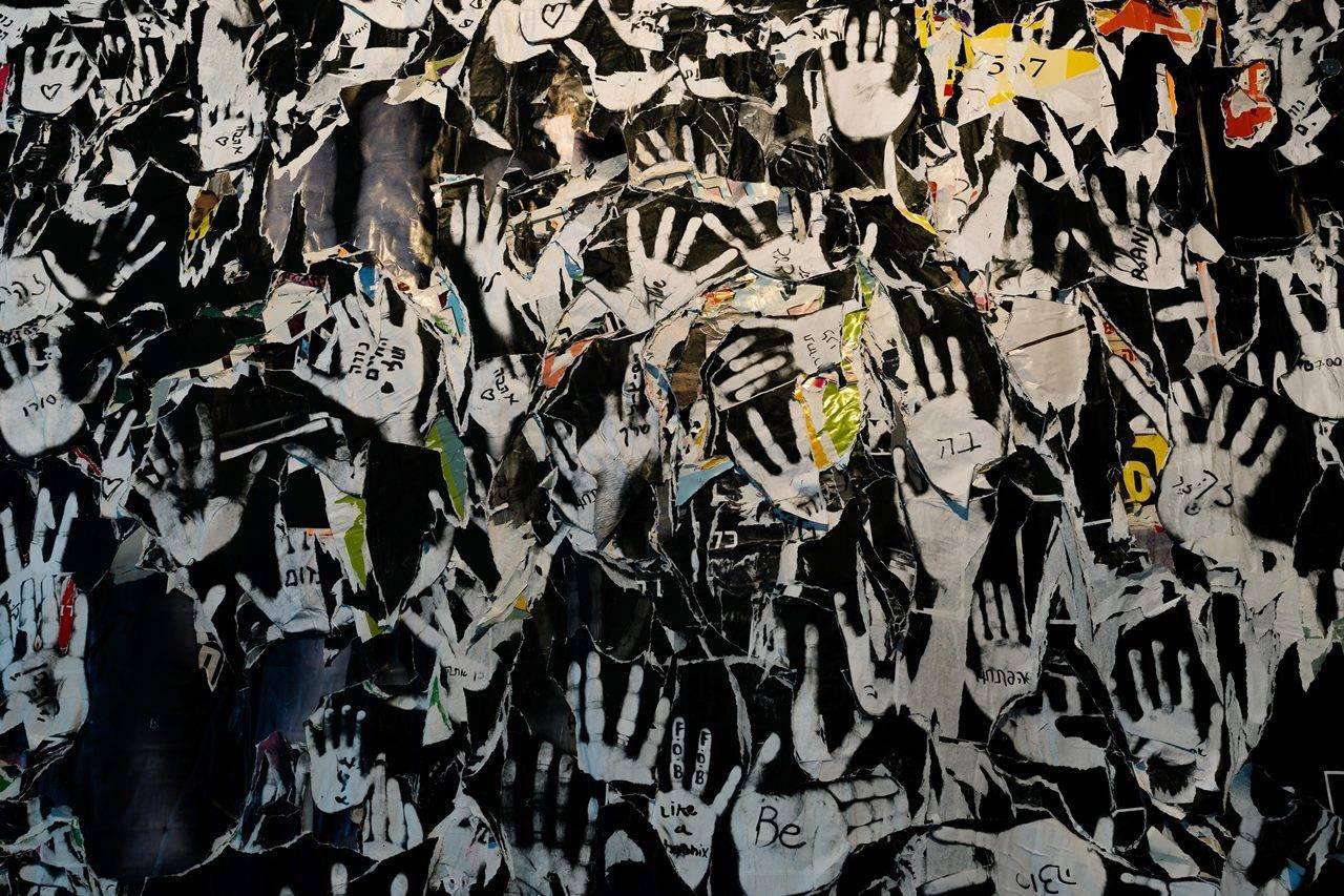 שרון גלזברג בגלריה רו ארט. צילומי הצבה: דניאל חנוך
