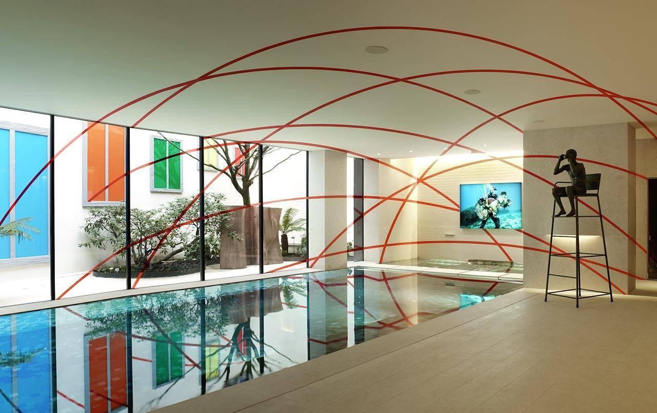 אדריכל פייר יובנוביץ ויועץ האמנות הבינלאומי פיליפ כהן, בית פרטי בפריז