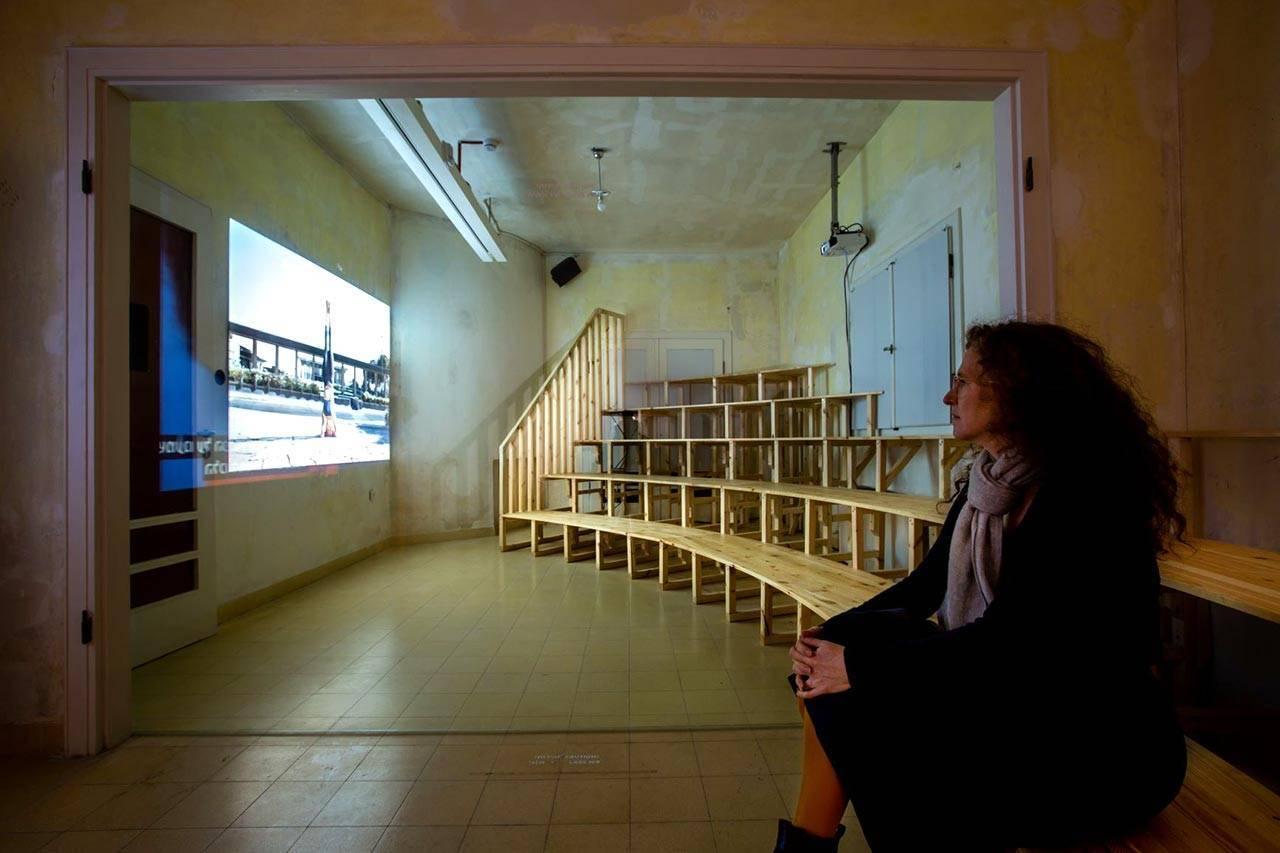עבודת וידאו של מעיין מוזס באמפיTV