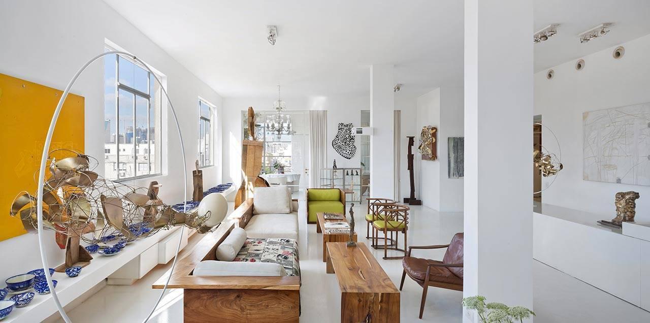הבית והסטודיו של האדריכל אלכס מייטליס ובן זוגו איוו ביזיניאנו