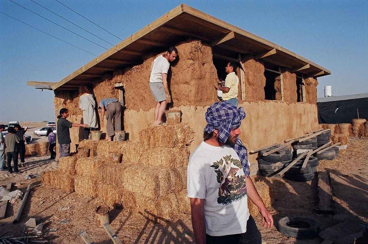 צילום: צוות הבניה של המרפאה עבור שבט מדוואד, רמת חובב